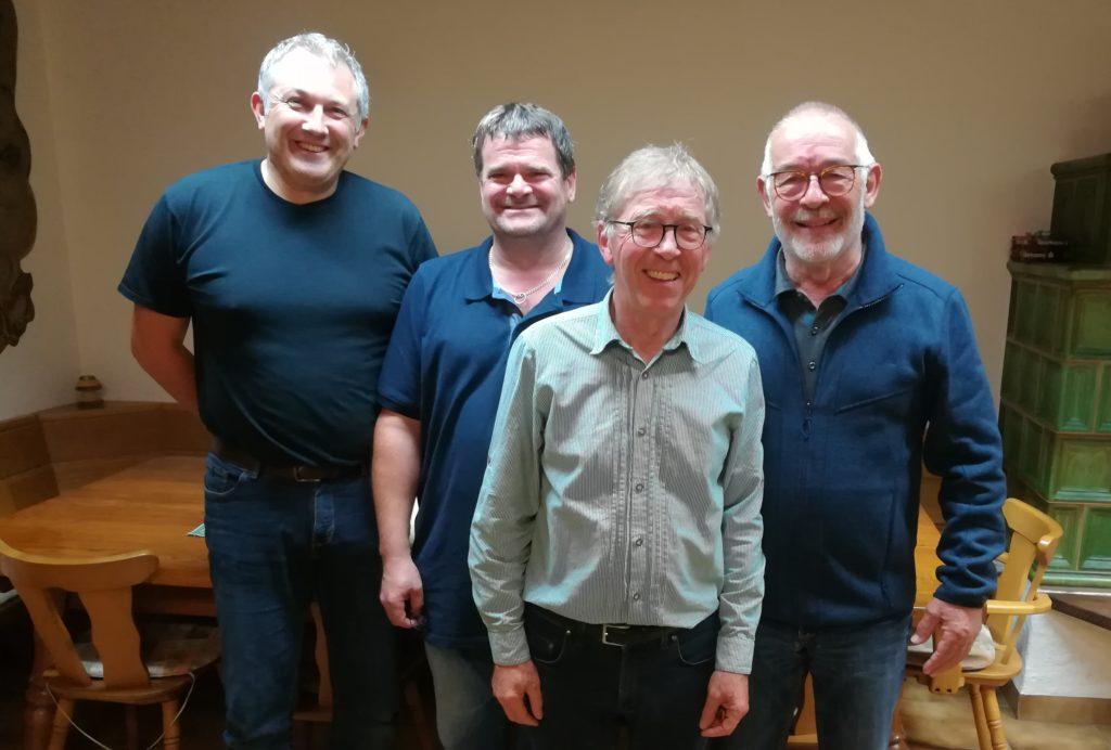 Vorstand 2019 - Birnkammer, Blatz, Hewitson, Gebauer